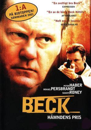 """Beck"" Hämndens pris - Swedish poster (thumbnail)"