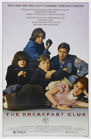 The Breakfast Club - Movie Poster (thumbnail)
