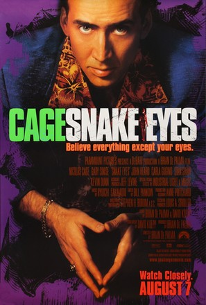 Snake Eyes - Movie Poster (thumbnail)