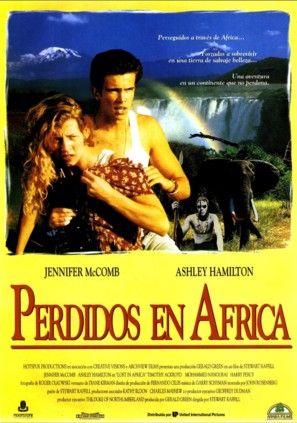 Lost in Africa - Spanish Movie Poster (thumbnail)