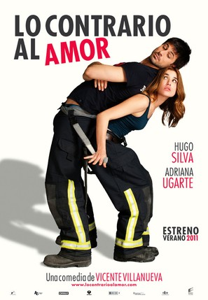 Lo contrario al amor - Spanish Movie Poster (thumbnail)