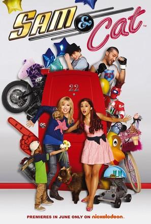"""Sam & Cat"" - Movie Poster (thumbnail)"