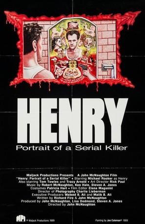 Henry: Portrait of a Serial Killer - Movie Poster (thumbnail)