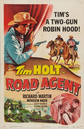 Road Agent - Movie Poster (thumbnail)