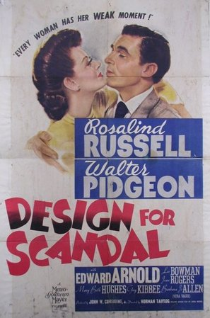 Design for Scandal - Movie Poster (thumbnail)