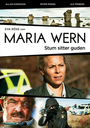 """Maria Wern"" - Swedish DVD movie cover (thumbnail)"