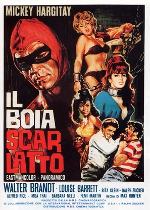 Il boia scarlatto - Italian Movie Poster (thumbnail)