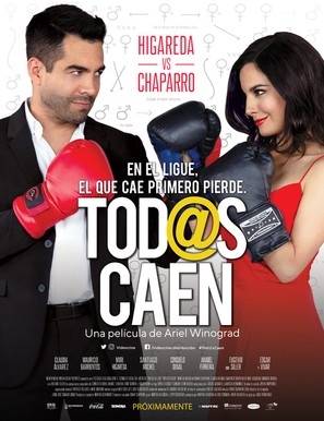 Tod@s Caen - Mexican Movie Poster (thumbnail)