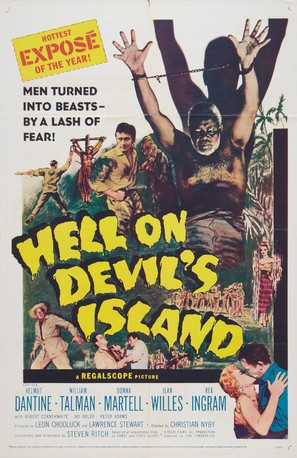 Hell on Devil's Island - Movie Poster (thumbnail)