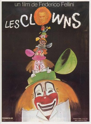 Clowns, I - French Movie Poster (thumbnail)