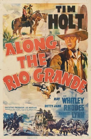 Along the Rio Grande - Movie Poster (thumbnail)