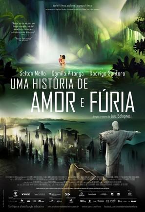 Uma História de Amor e Fúria - Brazilian Movie Poster (thumbnail)