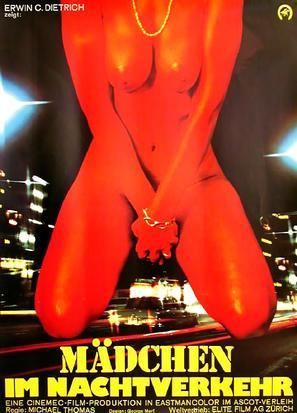 Mädchen im Nachtverkehr - German Movie Poster (thumbnail)