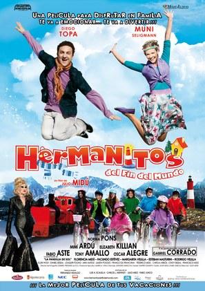 Hermanitos del fin del mundo - Argentinian Movie Poster (thumbnail)