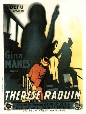Thérèse Raquin - French Movie Poster (thumbnail)