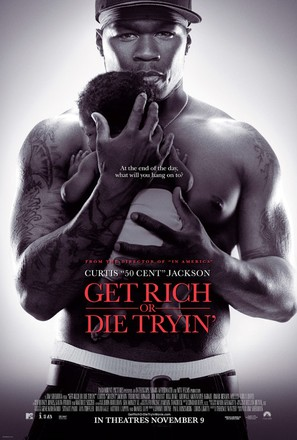 Get Rich or Die Tryin' - Movie Poster (thumbnail)