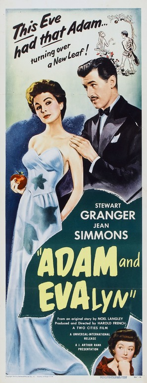 Adam and Evelyne - Movie Poster (thumbnail)