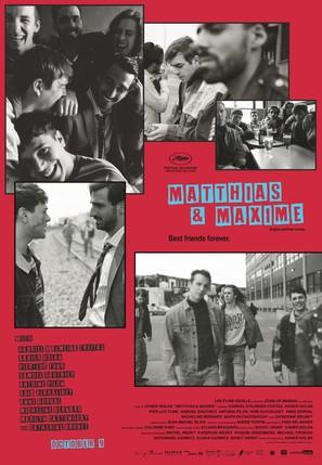 Matthias & Maxime - Canadian Movie Poster (thumbnail)