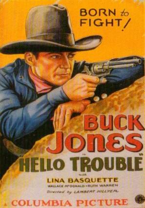 Hello Trouble - Movie Poster (thumbnail)