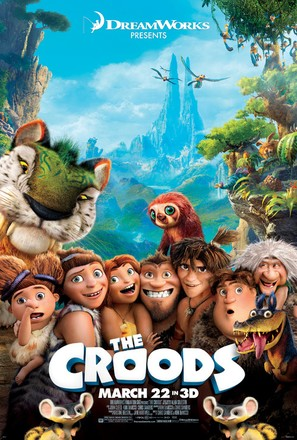 The Croods - Movie Poster (thumbnail)