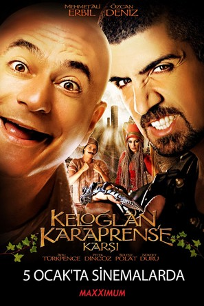Keloglan kara prens'e karsi - Turkish Movie Poster (thumbnail)