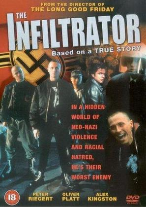 The Infiltrator - British DVD movie cover (thumbnail)