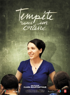 Tempête sous un crâne - French Movie Poster (thumbnail)