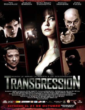 Transgression - Spanish Movie Poster (thumbnail)