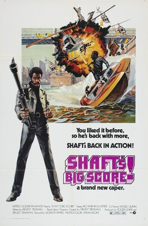 Shaft's Big Score! - Theatrical poster (thumbnail)
