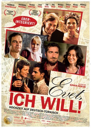 Evet, ich will! - German Movie Poster (thumbnail)