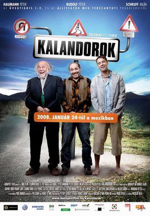 Kalandorok - Hungarian poster (thumbnail)