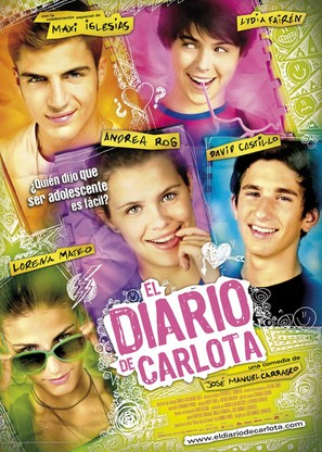 El diario de Carlota - Spanish Movie Poster (thumbnail)