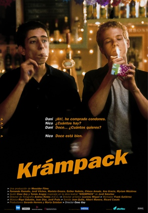 Krámpack - Spanish Movie Poster (thumbnail)