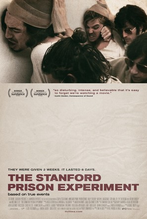 The Stanford Prison Experiment - Movie Poster (thumbnail)