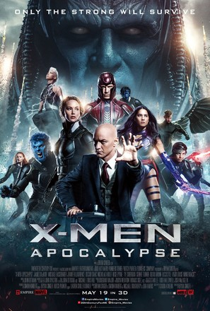 X-Men: Apocalypse - Theatrical poster (thumbnail)