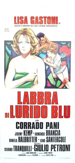 Labbra di lurido blu - Italian Movie Poster (thumbnail)