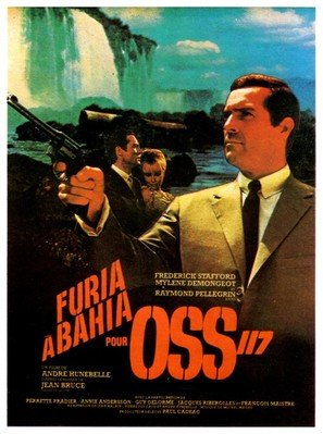 Furia à Bahia pour OSS 117 - French Movie Poster (thumbnail)