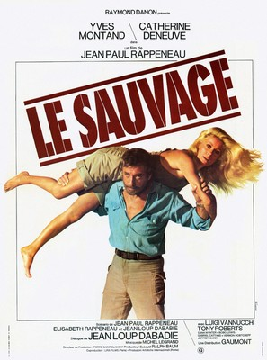 Le Sauvage - French Movie Poster (thumbnail)