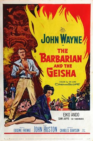 The Barbarian and the Geisha - Movie Poster (thumbnail)