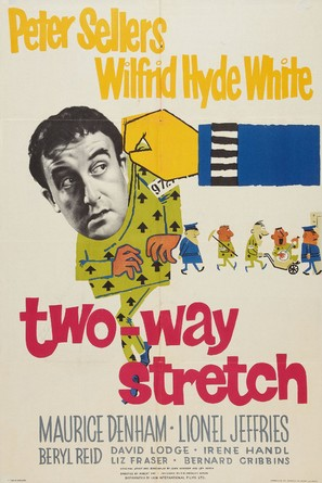 Two Way Stretch - British Movie Poster (thumbnail)