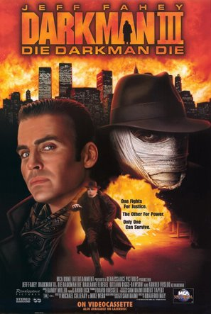 Darkman III: Die Darkman Die - Video release poster (thumbnail)