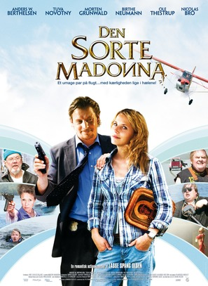 Den sorte Madonna - Danish Movie Poster (thumbnail)