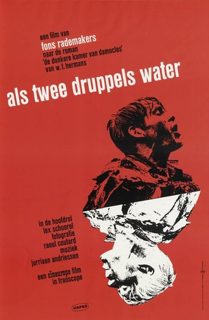 Als twee druppels water - Dutch Movie Poster (thumbnail)
