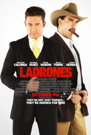 Ladrones - Movie Poster (thumbnail)