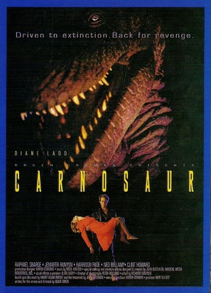 Carnosaur - Movie Poster (thumbnail)
