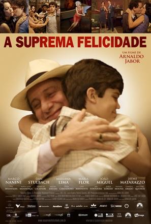 A Suprema Felicidade - Brazilian Movie Poster (thumbnail)