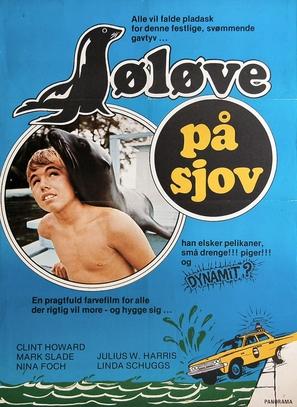Salty - Danish Movie Poster (thumbnail)