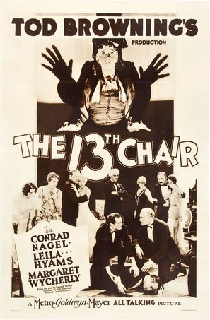 The Thirteenth Chair - Movie Poster (thumbnail)