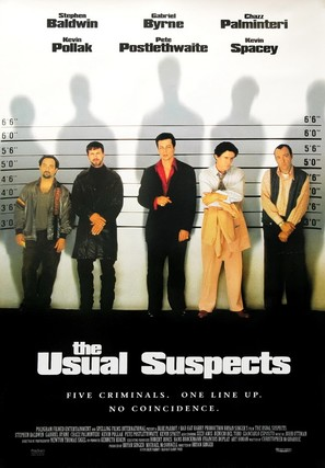 The Usual Suspects - Movie Poster (thumbnail)