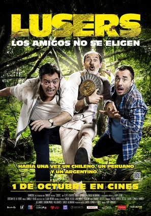 Lusers Los Amigos No Se Eligen 2015 Movie Posters